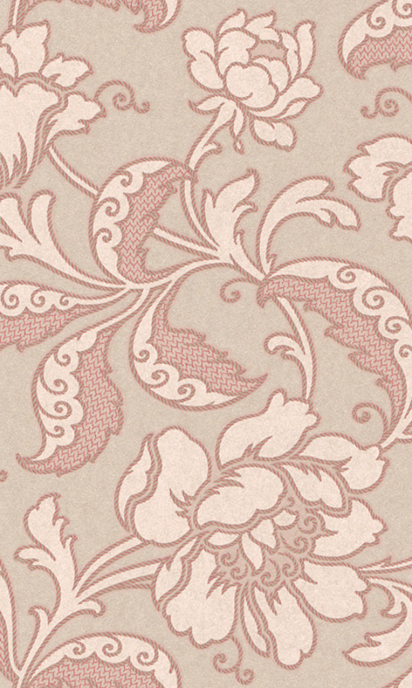 Amira Golden Floral Wallpaper 226026