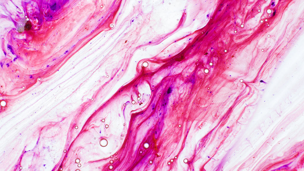 FUSCHIA FLOWING PAINT WALLPAPER 2001028
