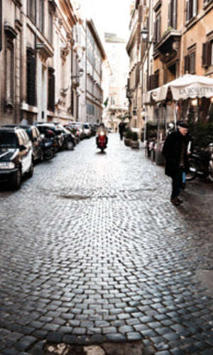 City Love Rome Streets Wallpaper CL19A