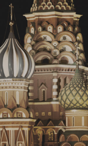 City Love Moscow Colours Wallpaper CL21C
