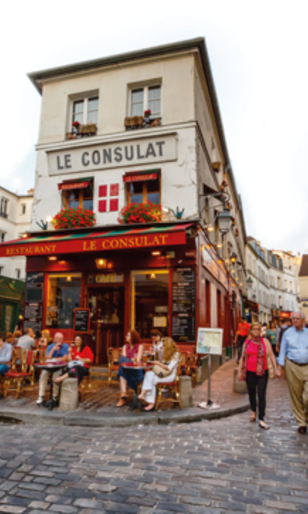 City Love Paris Restaurants Wallpaper CL37A