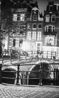 City Love Amsterdam Bridge Wallpaper CL39B