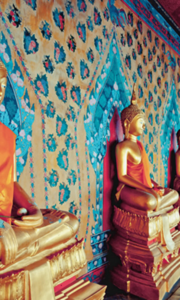 City Love Bangkok Buddha Wallpaper CL57A