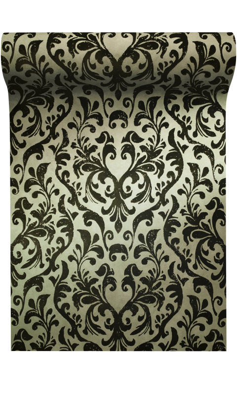 damask flock wallpaper canada