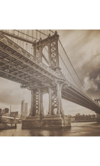 City Love New York Manhattan Bridge Wallpaper CL04C