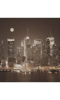 City Love New York Skyline Wallpaper CL08C