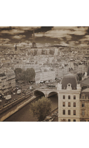 City Love Paris Overview Wallpaper CL09C