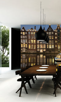 City Love Amsterdam by Water Wallpaper CL13A