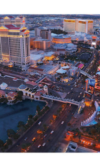 City Love Las Vegas Overview Wallpaper CL16A