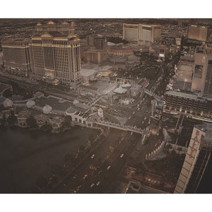 City Love Las Vegas Overview Wallpaper CL16C