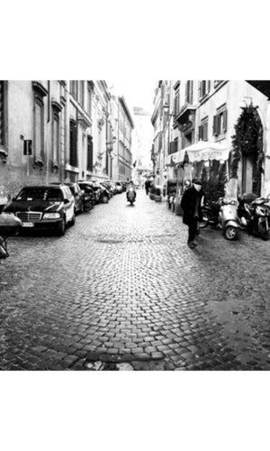 City Love Rome Streets Wallpaper CL19B