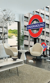 City Love London Underground Wallpaper CL29A