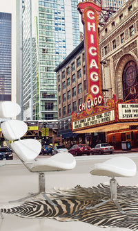 City Love Chicago Theater Wallpaper CL36A