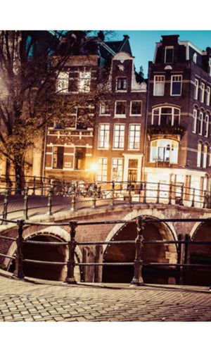 City Love Amsterdam Bridge Wallpaper CL39A