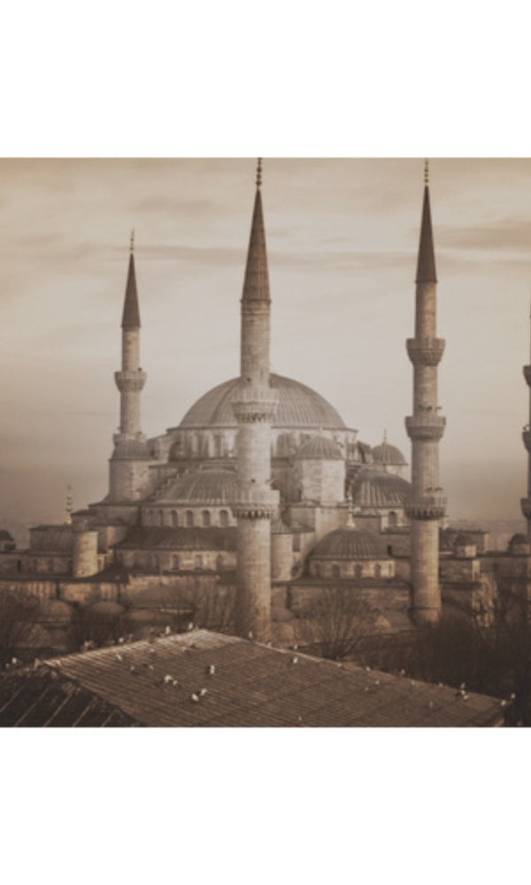 City Love Istanbul Mosque Wallpaper CL41C