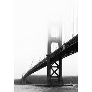 City Love San Fransisco Bridge From Below Wallpaper CL46B