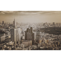 City Love Tokyo Overview Wallpaper CL65C