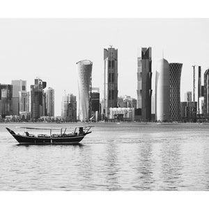 City Love Doha from the Water Wallpaper CL74B