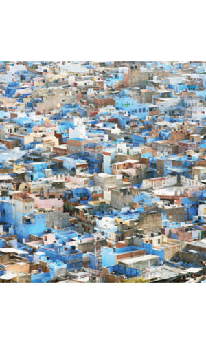 City Love Rajasthan Construction Wallpaper CL77A