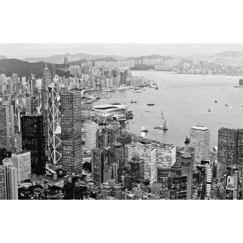 City Love Hong Kong Overview Wallpaper CL91B