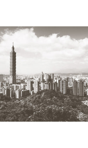 City Love Taipei Overview Wallpaper CL93A