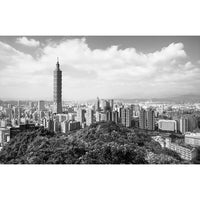 City Love Taipei Overview Wallpaper CL93B