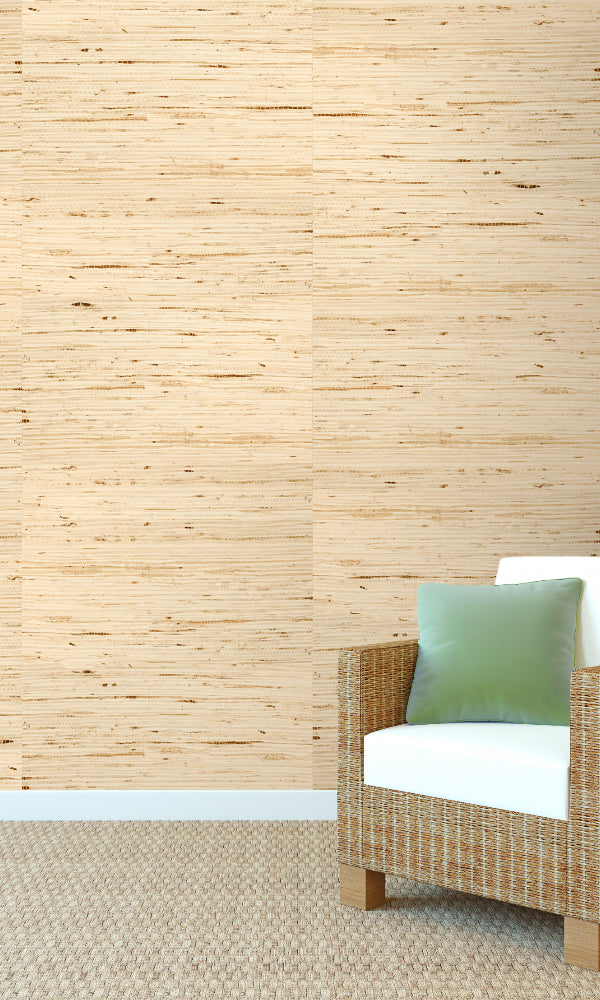 Grasscloth  Kapok Wallpaper GPW08-1001
