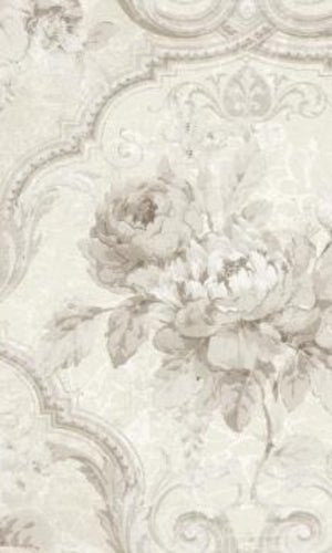 Brockhall Concrete Floral Wallpaper NH20104