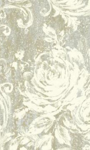 Brockhall Feathered Floral Wallpaper NH21008