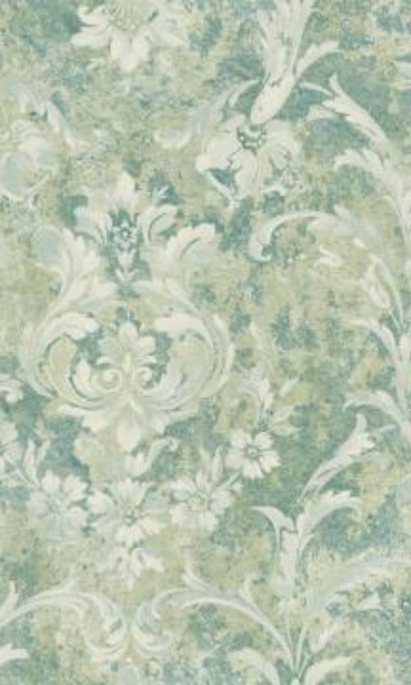 Brockhall Large Rustic Bloom Wallpaper NH21604