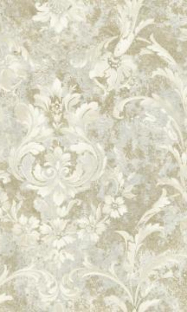 Brockhall Large Rustic Bloom Wallpaper NH21607