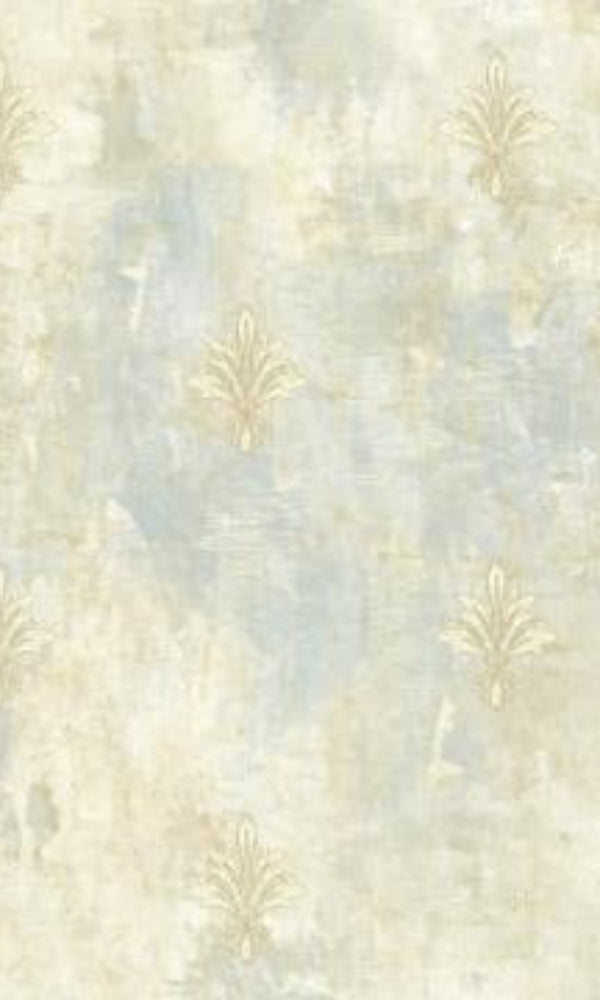 Brockhall Fleur De Lis Canvas Wallpaper NH22102