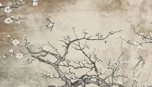 Custom Murals Japanese Tree Wallpaper TREE-100