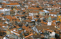 City Love Venice Rooftops Wallpaper CL33A