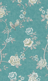 vintage floral chinoiserie wallpaper canada