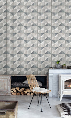 faux wood living room wallpaper