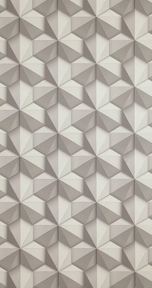 Loft Solid Hexagon Wallpaper 218418