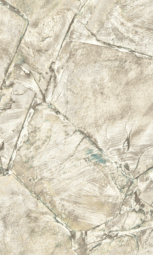 Precious Elements Weathered Stone Wallpaper NH30305