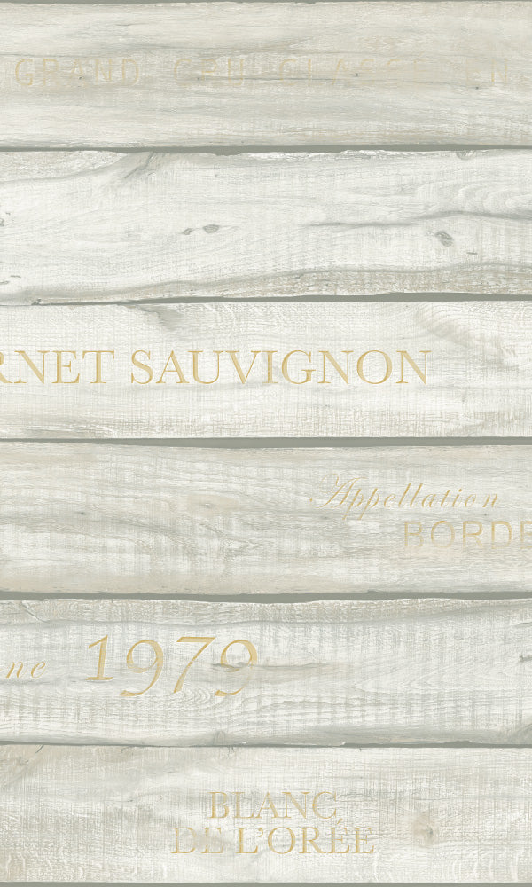 Precious Elements Vintage Wine Wallpaper NH31105