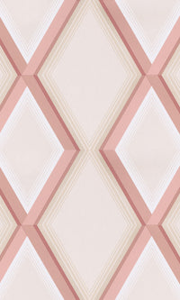 geometric diamonds wallpaper canada