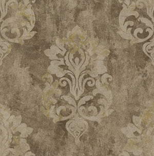 Titanium Weathered Large Damask RM41206