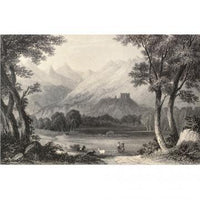 Custom Murals Aosta Valley Landscape Wallpaper AOSTA1