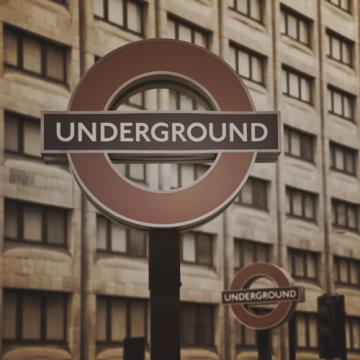 City Love London Underground Wallpaper CL29C