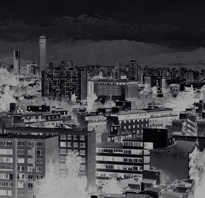 City Love Santiago Overview Wallpaper CL72A