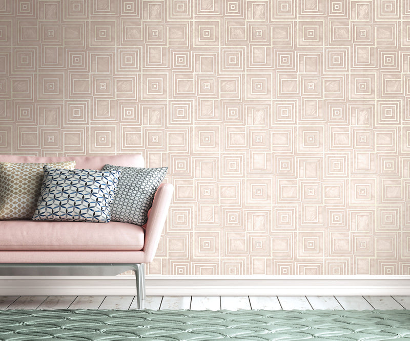 Precious Elements Dimensional Marble Wallpaper NH30807