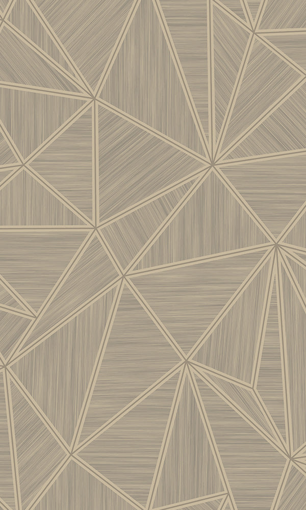Modern Motifs 2.0 Brown Shattered Triangles VG2009