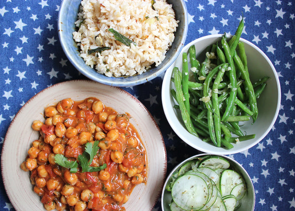 Nana's Kitchen Chickpea Masala - FoodPar