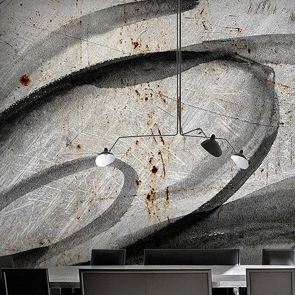 faux effects concrete wallpaper murals