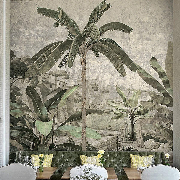 tropical wallpaper murals