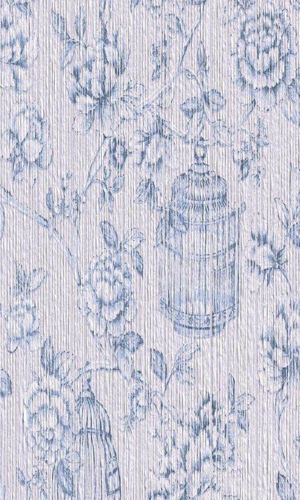 Seraphine Floral Yarn Wallpaper 076638